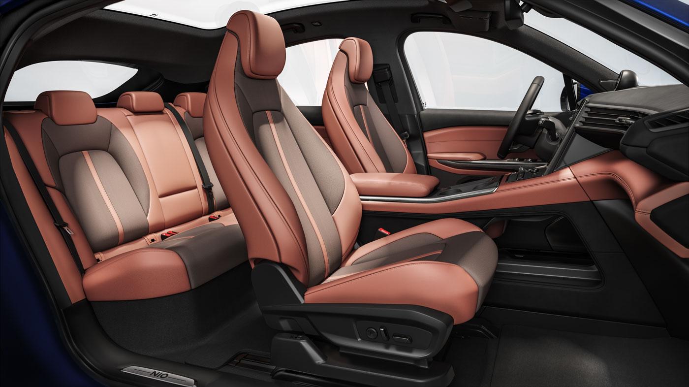 蔚来ec6内饰图-潮酷、个性、有质感的运动座舱 | 蔚来ec6车型页