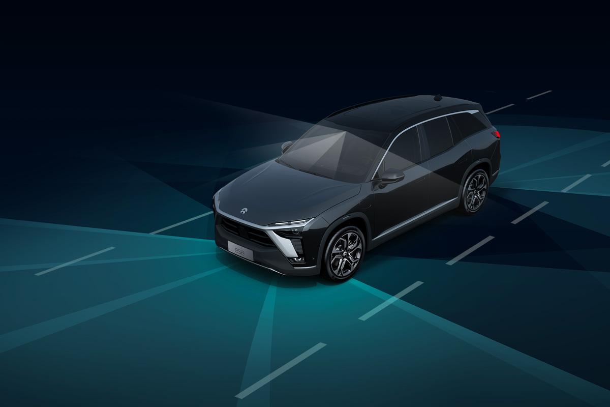 蔚来ES8自动辅助驾驶系统-搭载全球领先Mobileye EyeQ4自动驾驶芯片,支持超过20项辅助驾驶功能,支持远程车辆软件升级(FOTA)-移动端 | 蔚来ES8车型页