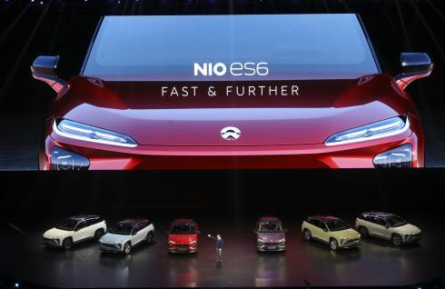 蔚来汽车ES6首发纪念版下线6月开始交付